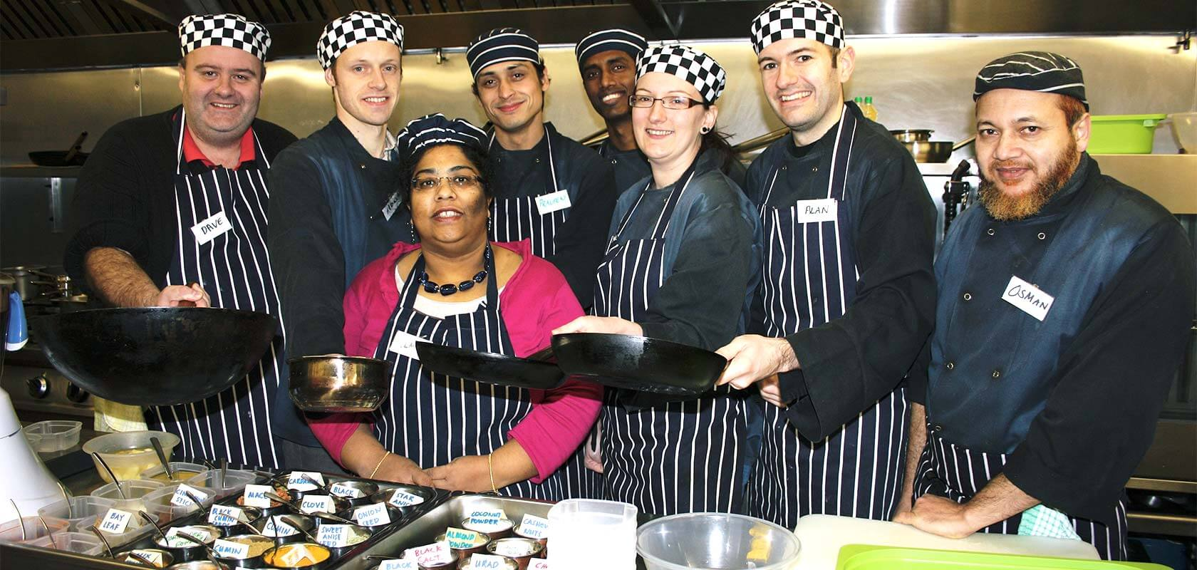 Indian Cookery Class in Crawley